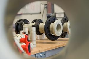 Photo de tuyaux avec raccord Plug & Play