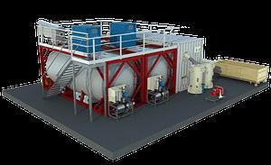 Modélisation 3D d'un bioréacteur horizontal BioliCell