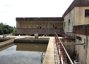 Station d'eau potable en République Démocratique du Congo